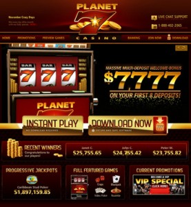 planet 7 casino online form html